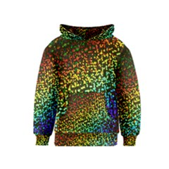 Construction Paper Iridescent Kids  Pullover Hoodie