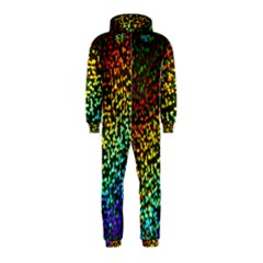 Construction Paper Iridescent Hooded Jumpsuit (kids)