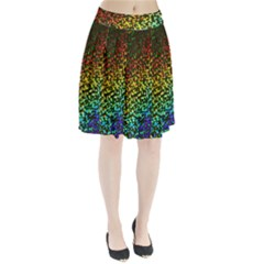 Construction Paper Iridescent Pleated Skirt