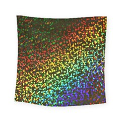 Construction Paper Iridescent Square Tapestry (small)