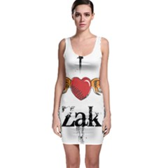 I HEART ZAK Sleeveless Bodycon Dress