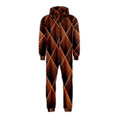 Metal Grid Framework Creates An Abstract Hooded Jumpsuit (Kids)