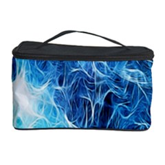 Fractal Occean Waves Artistic Background Cosmetic Storage Case