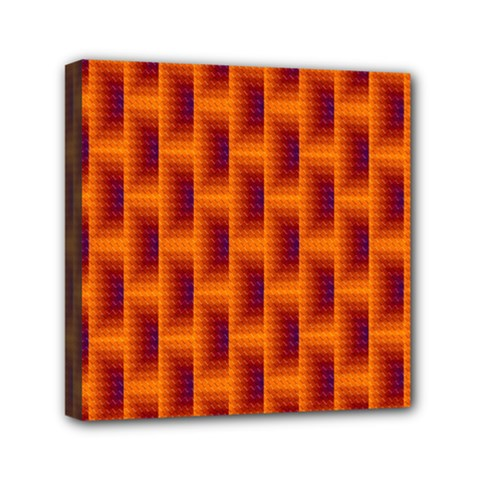 Fractal Multicolored Background Mini Canvas 6  X 6