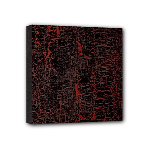 Black And Red Background Mini Canvas 4  X 4