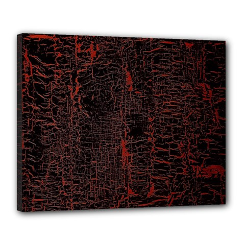 Black And Red Background Canvas 20  X 16