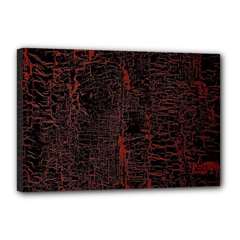 Black And Red Background Canvas 18  X 12
