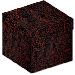 Black And Red Background Storage Stool 12