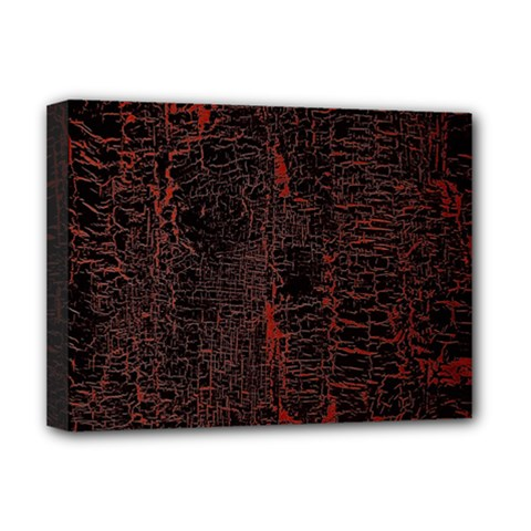 Black And Red Background Deluxe Canvas 16  X 12