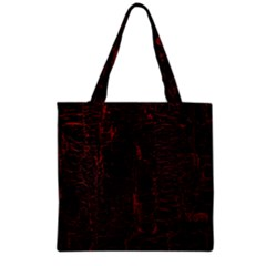 Black And Red Background Grocery Tote Bag