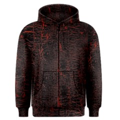Black And Red Background Men s Zipper Hoodie