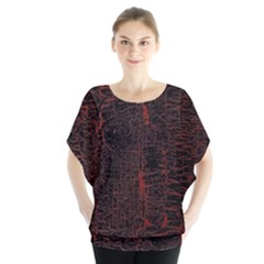 Black And Red Background Blouse