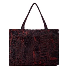 Black And Red Background Medium Tote Bag