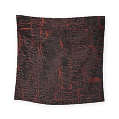 Black And Red Background Square Tapestry (small)