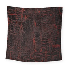 Black And Red Background Square Tapestry (large)
