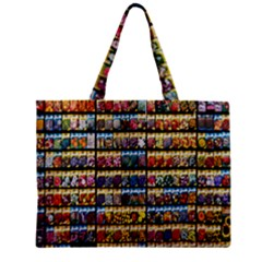 Flower Seeds For Sale At Garden Center Pattern Mini Tote Bag