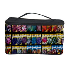 Flower Seeds For Sale At Garden Center Pattern Cosmetic Storage Case