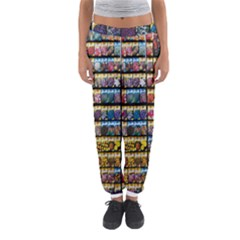 Flower Seeds For Sale At Garden Center Pattern Women s Jogger Sweatpants