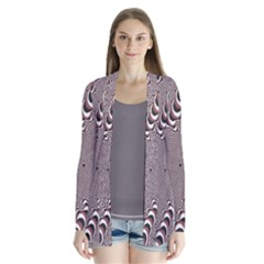 Digital Fractal Pattern Cardigans