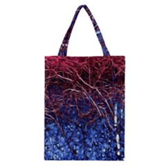 Autumn Fractal Forest Background Classic Tote Bag
