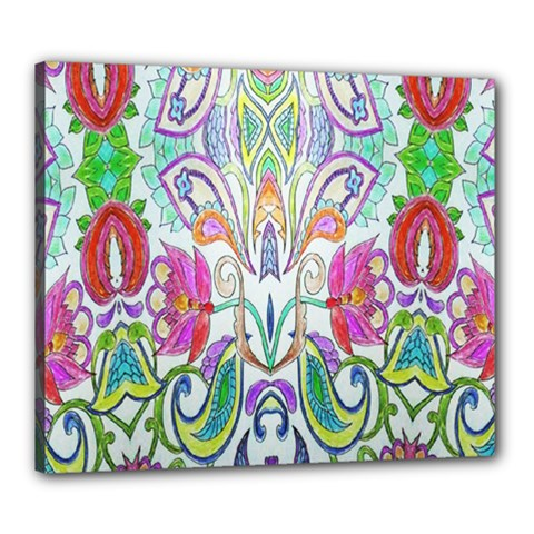 Wallpaper Created From Coloring Book Canvas 24  X 20