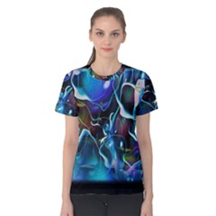 Water Is The Future Women s Cotton Tee
