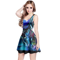 Water Is The Future Reversible Sleeveless Dress