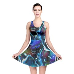 Water Is The Future Reversible Skater Dress