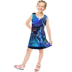 Water Is The Future Kids  Tunic Dress