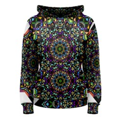 Mandala Abstract Geometric Art Women s Pullover Hoodie