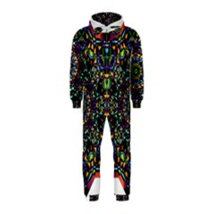 Mandala Abstract Geometric Art Hooded Jumpsuit (kids)