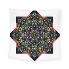 Mandala Abstract Geometric Art Square Tapestry (small)