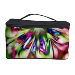 Magic Fractal Flower Multicolored Cosmetic Storage Case