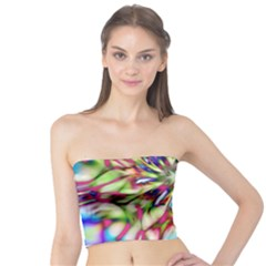 Magic Fractal Flower Multicolored Tube Top