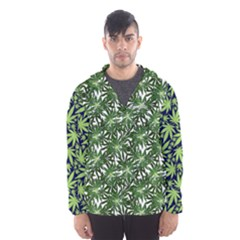 Cannabis Hooded Wind Breaker (men)