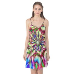 Magic Fractal Flower Multicolored Camis Nightgown