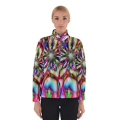 Magic Fractal Flower Multicolored Winterwear