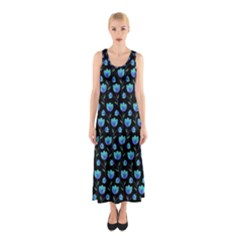Floral pattern Sleeveless Maxi Dress