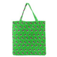 Floral pattern Grocery Tote Bag