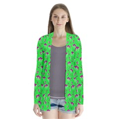 Floral pattern Cardigans