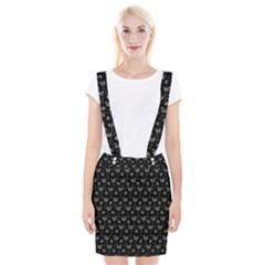 Floral pattern Suspender Skirt