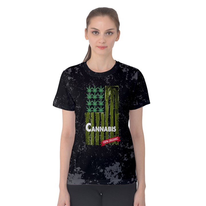 Cannabis Women s Cotton Tee