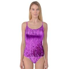 Purple Background Scrapbooking Paper Camisole Leotard
