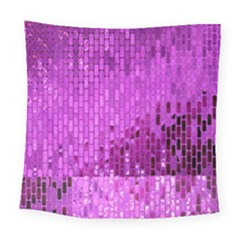 Purple Background Scrapbooking Paper Square Tapestry (large)