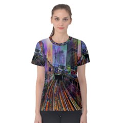 Downtown Chicago Women s Cotton Tee
