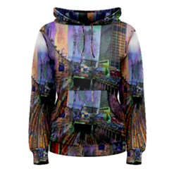 Downtown Chicago Women s Pullover Hoodie