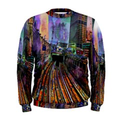 Downtown Chicago Men s Sweatshirt