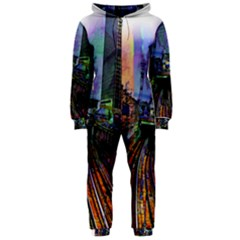 Downtown Chicago Hooded Jumpsuit (ladies)