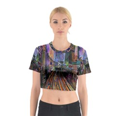 Downtown Chicago Cotton Crop Top