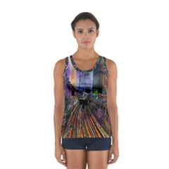 Downtown Chicago Women s Sport Tank Top